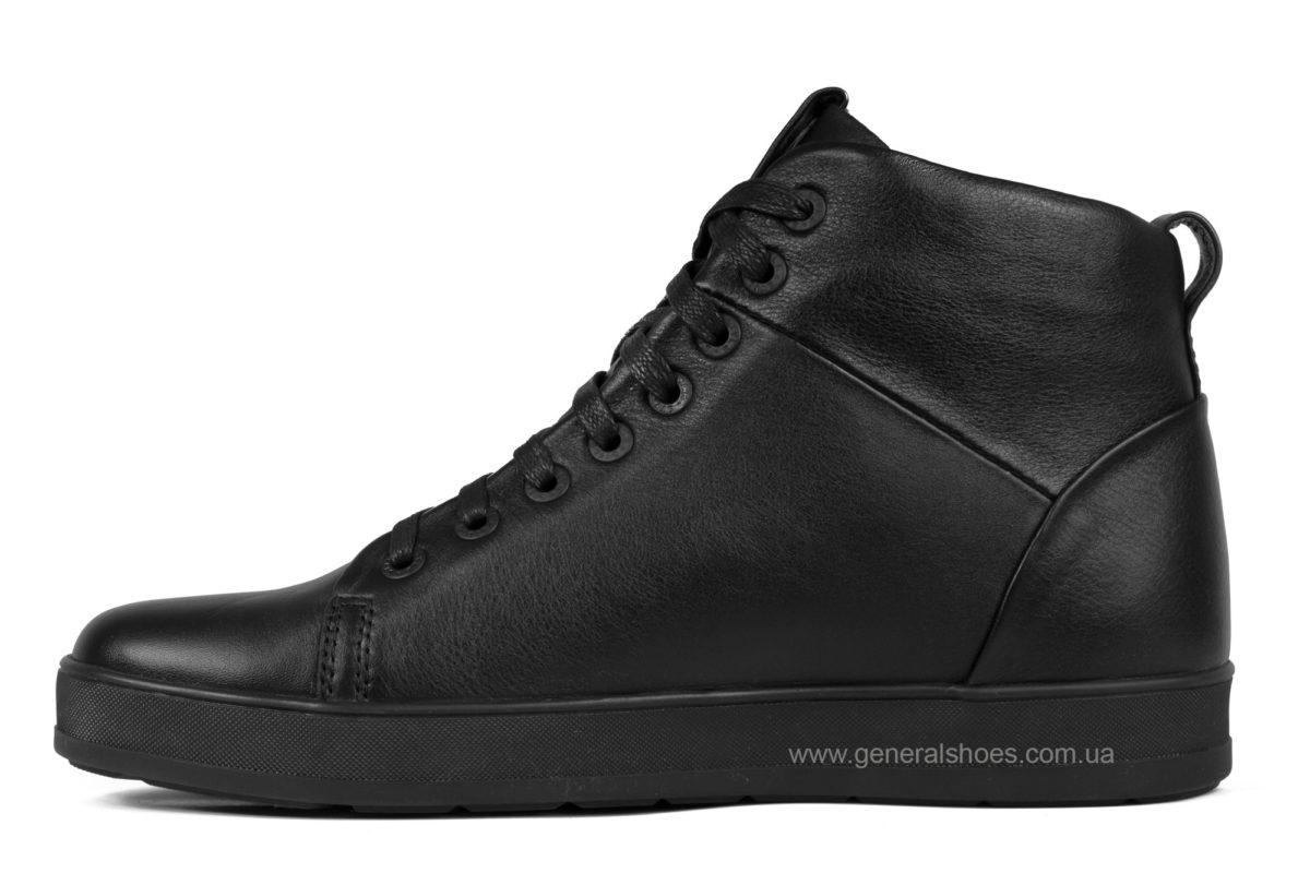 Мужские зимние кожаные ботинки Ed-Ge 551 фото 3