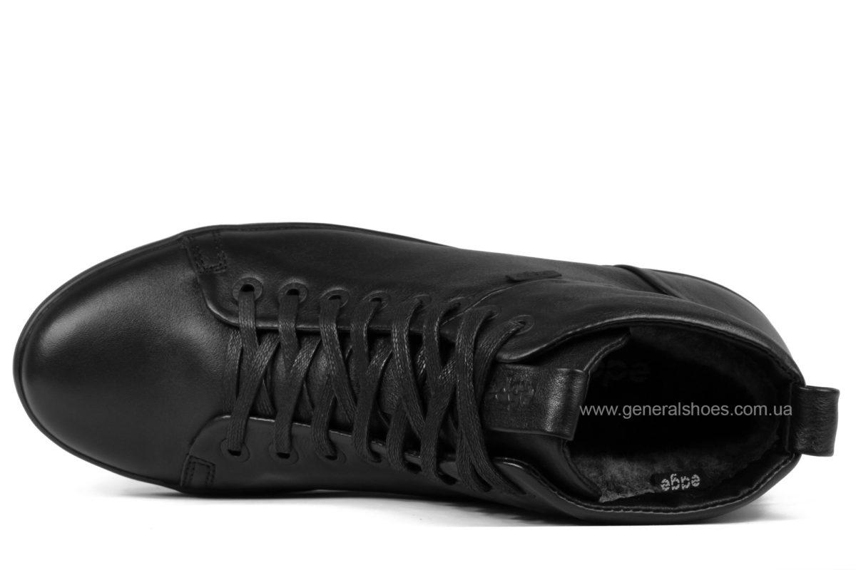 Мужские зимние кожаные ботинки Ed-Ge 551 фото 4