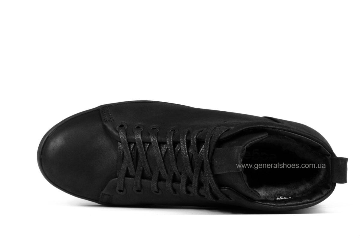 Мужские зимние кожаные ботинки Ed-Ge 552M фото 4
