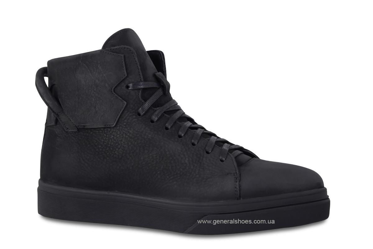 Мужские зимние кожаные ботинки Sensor 795 натуральный мех фото 3