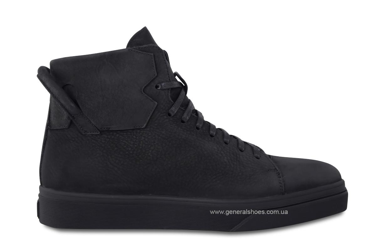 Мужские зимние кожаные ботинки Sensor 795 натуральный мех фото 6