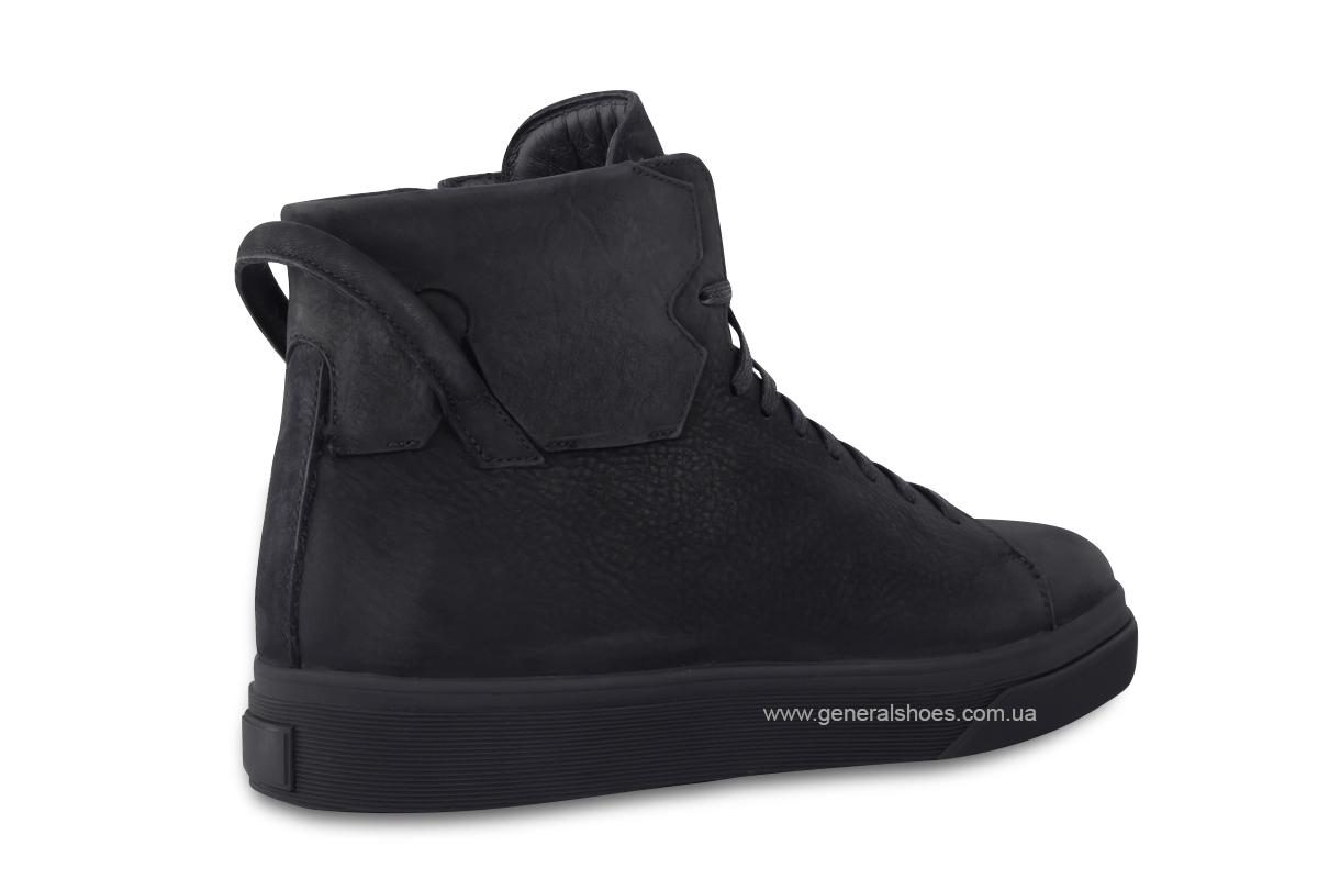 Мужские зимние кожаные ботинки Sensor 795 натуральный мех фото 7