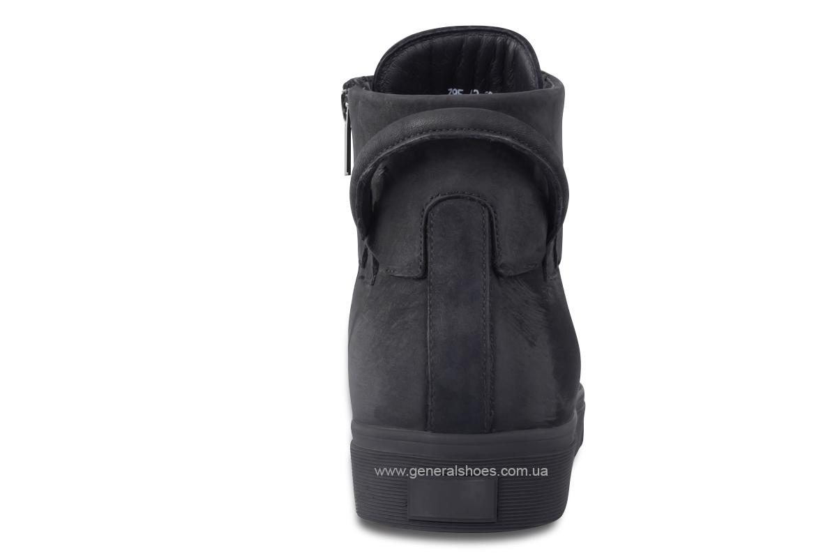 Мужские зимние кожаные ботинки Sensor 795 натуральный мех фото 8