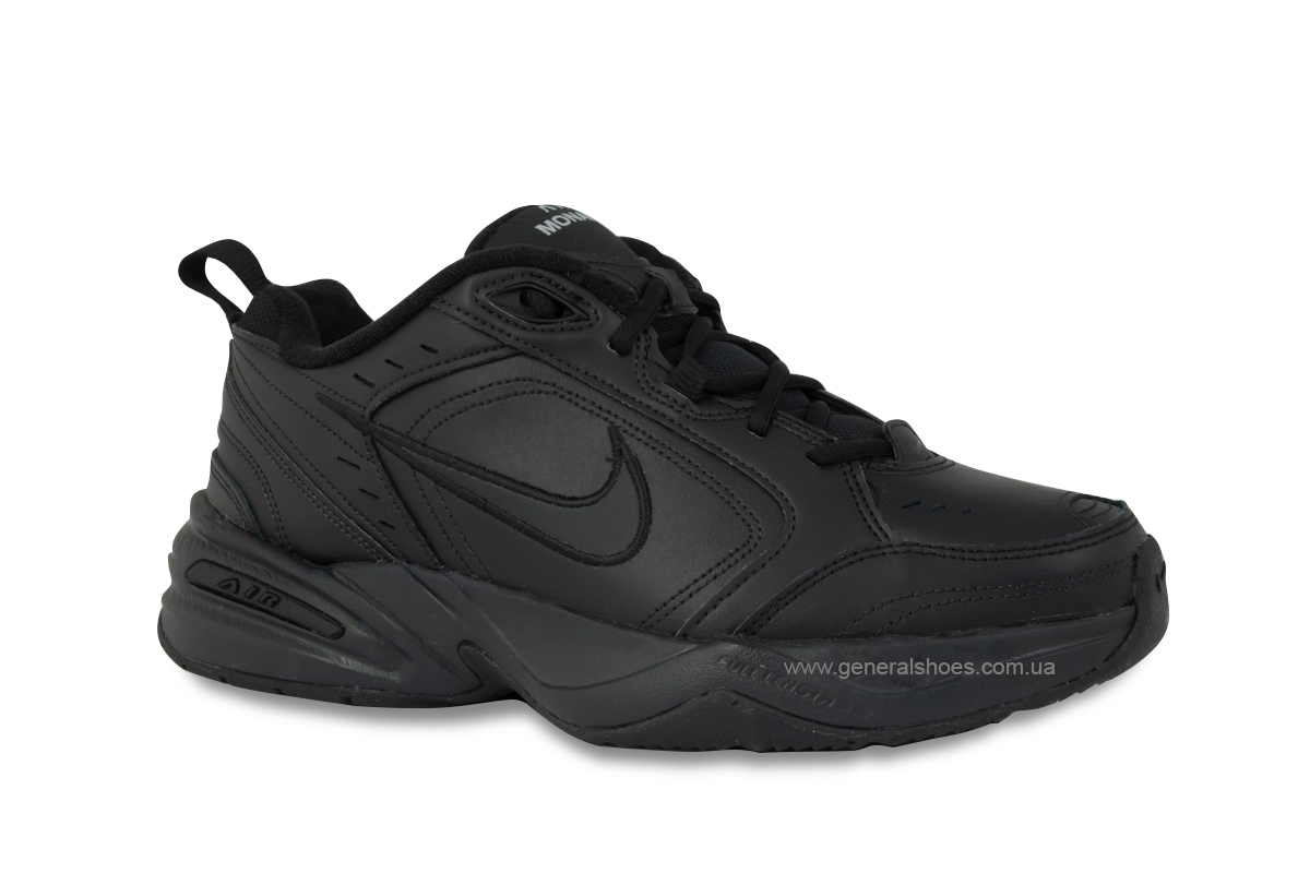 Кроссовки Nike Air Monarch IV 415445-001 черные (оригинал) фото 2