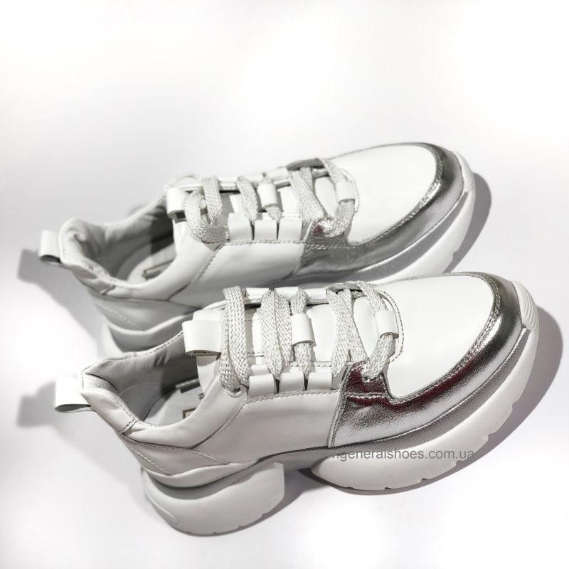 Женские кожаные кроссовки BM 2045 фото 3