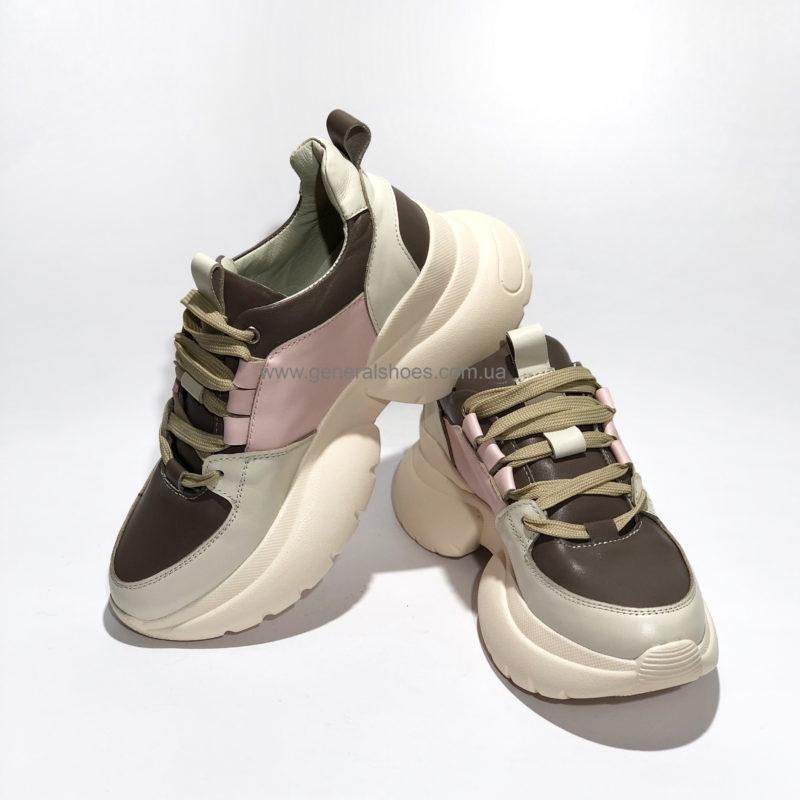 Женские кожаные кроссовки BM 2203 фото 2