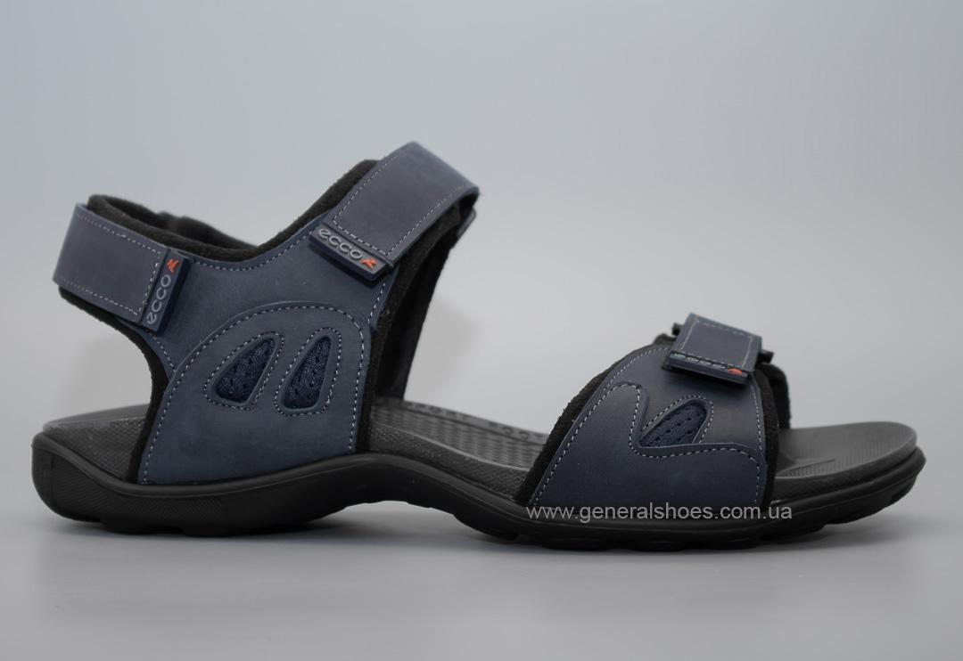 Мужские спортивные сандалии Е 3 синие фото 2