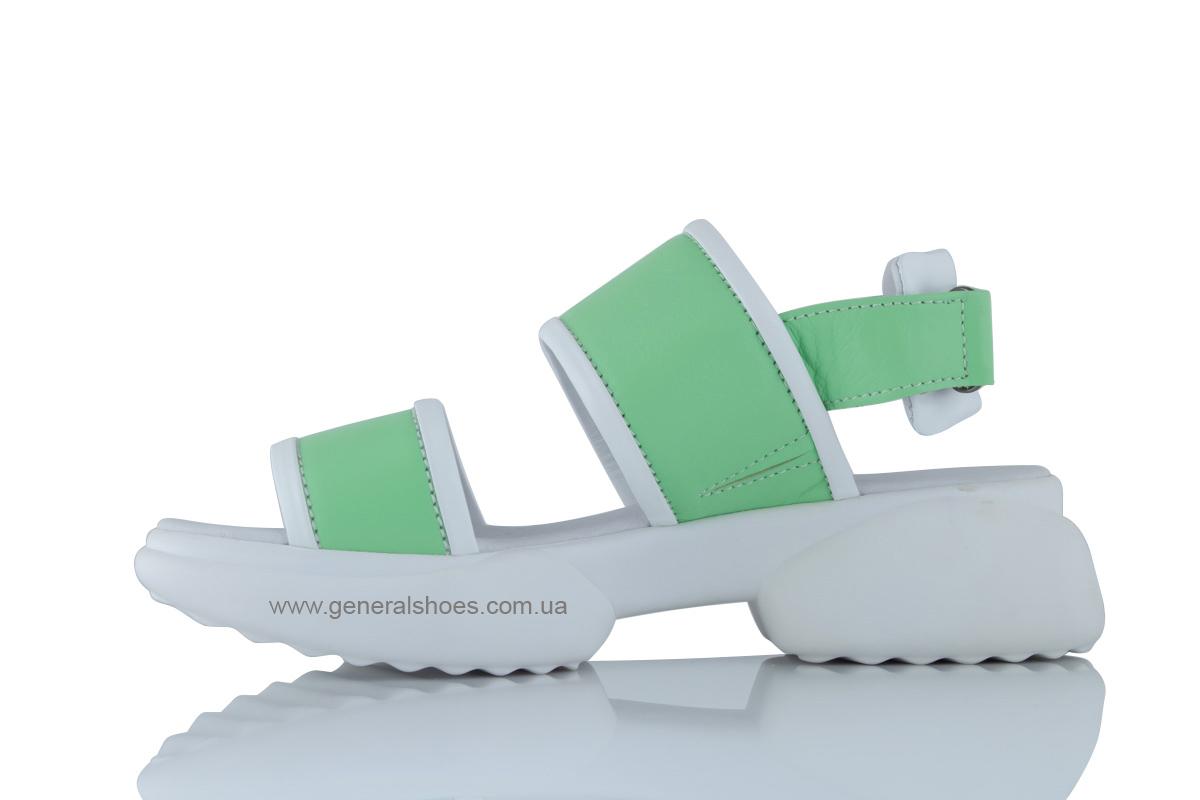 Женские кожаные босоножки G-18-3 фото 5