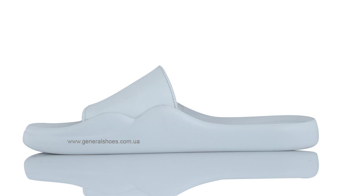 Женские кожаные шлепанцы G-25-10 фото 4