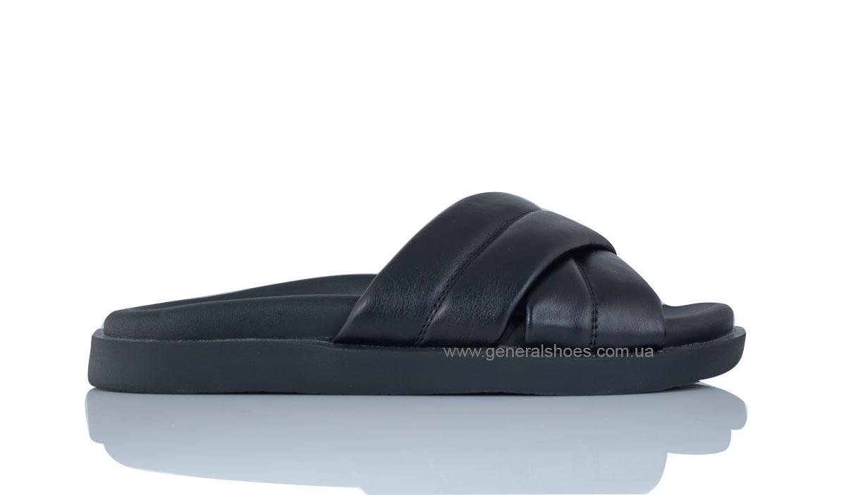 Женские кожаные шлепанцы G-30-1 фото 4