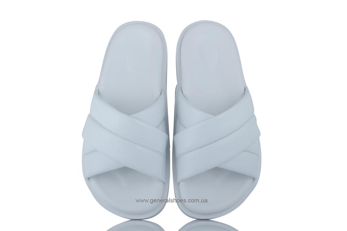 Женские кожаные шлепанцы G-30-2 фото 5