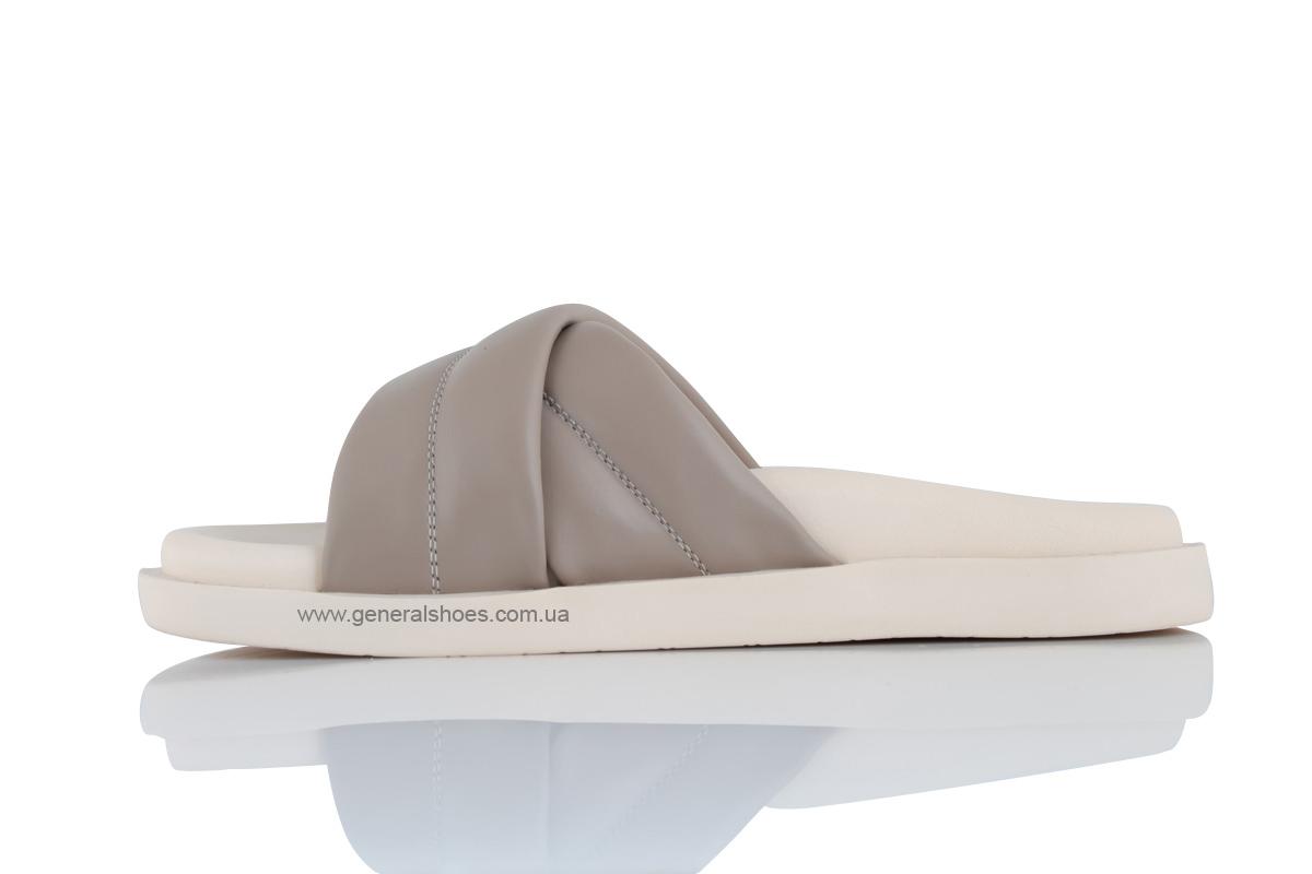 Женские кожаные шлепанцы G-30-4 фото 5