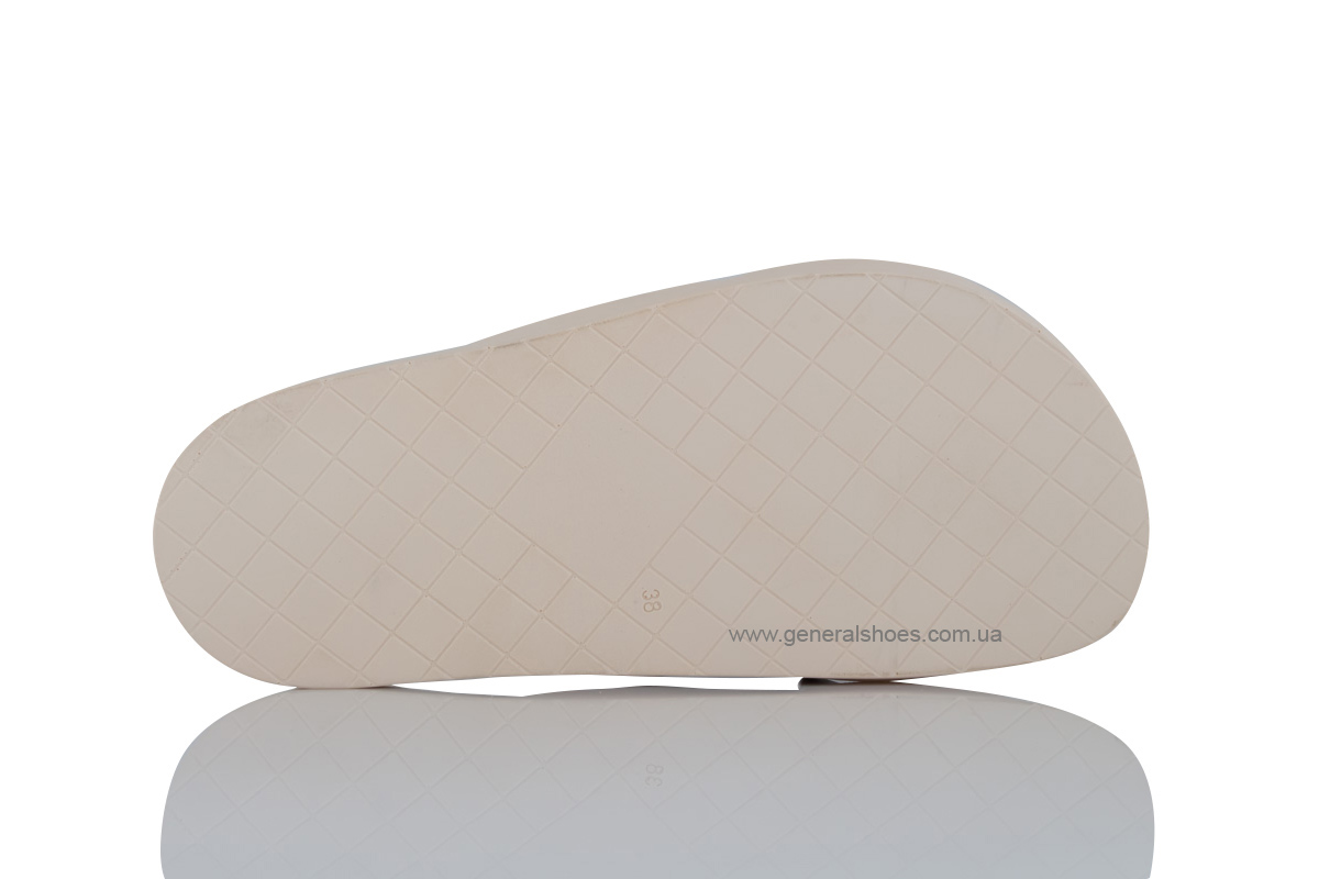Женские кожаные шлепанцы G-30-4 фото 6