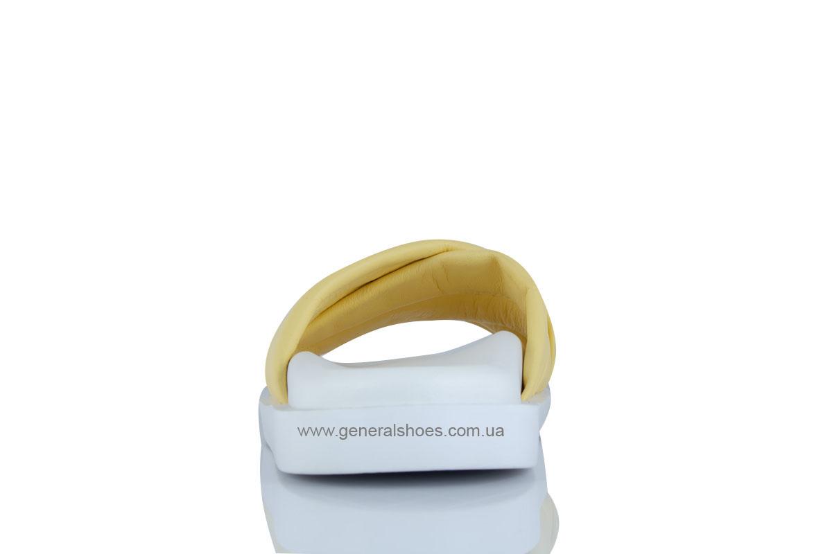 Женские кожаные шлепанцы G-30-6 фото 3