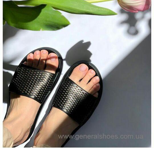 Женские кожаные шлепанцы G-50-1 фото 2