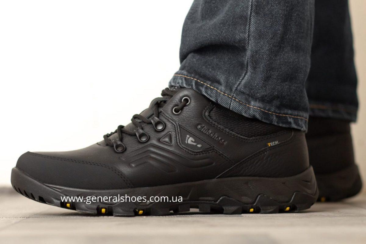Мужские кожаные кроссовки Clubshoes 2021 фото 6