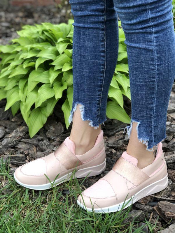 Кроссовки женские кожаные V 790-2066-42 фото 2