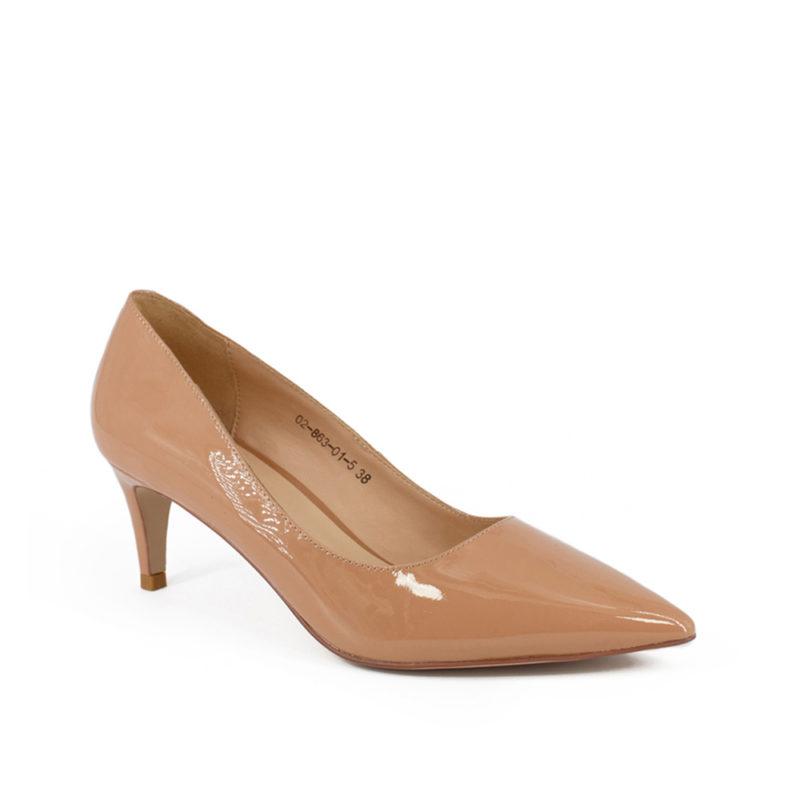 Туфли женские кожаные V 02-863-01-5-145 фото 2