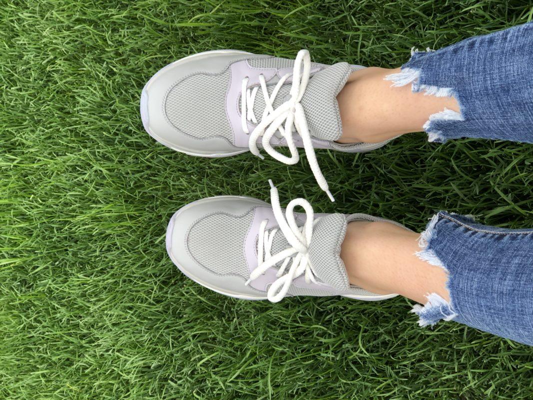 Женские кроссовки кожаные V 253-2153-32 фото 5