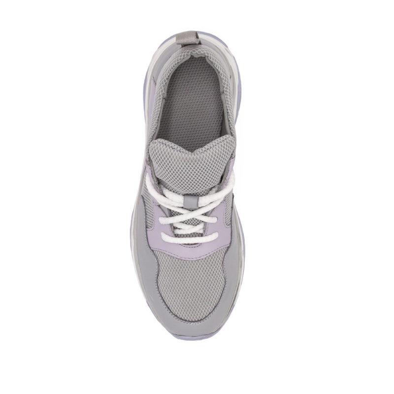 Женские кроссовки кожаные V 253-2153-32 фото 6