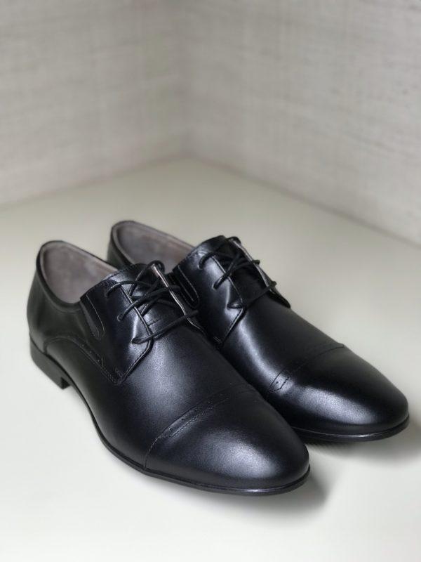 Мужские кожаные туфли VL 380-7004-20 фото 2