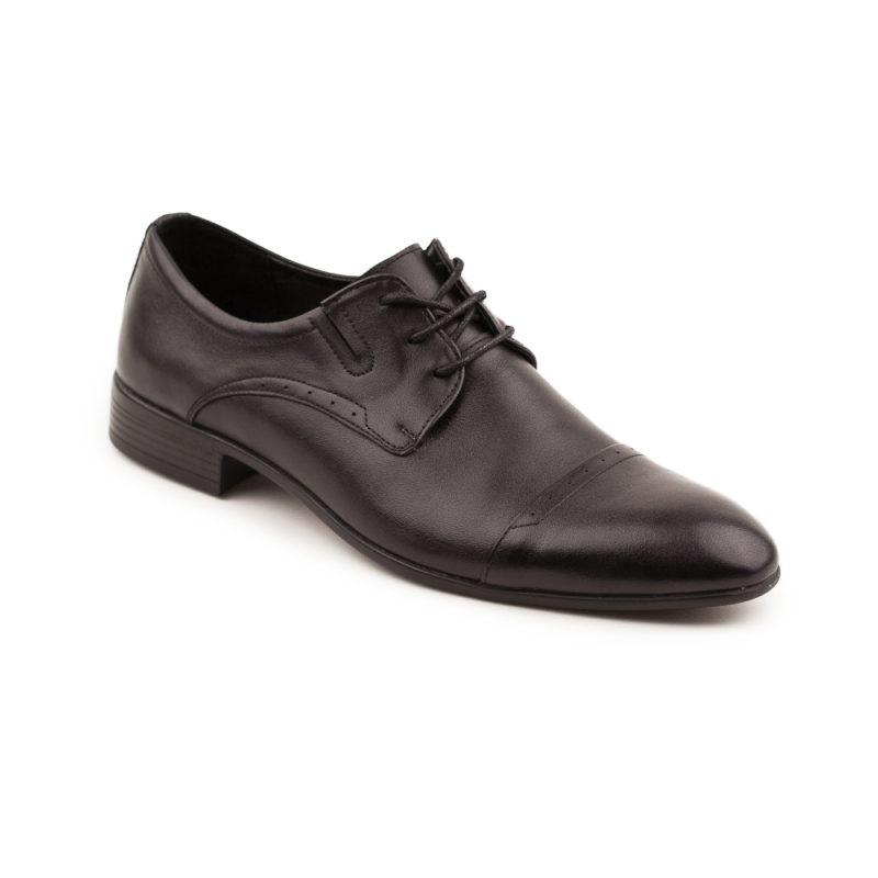Мужские кожаные туфли VL 380-7004-20 фото 3