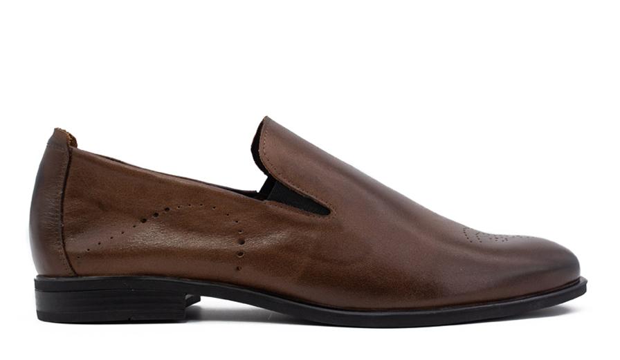 Мужские кожаные туфли VL 6233-7413-07