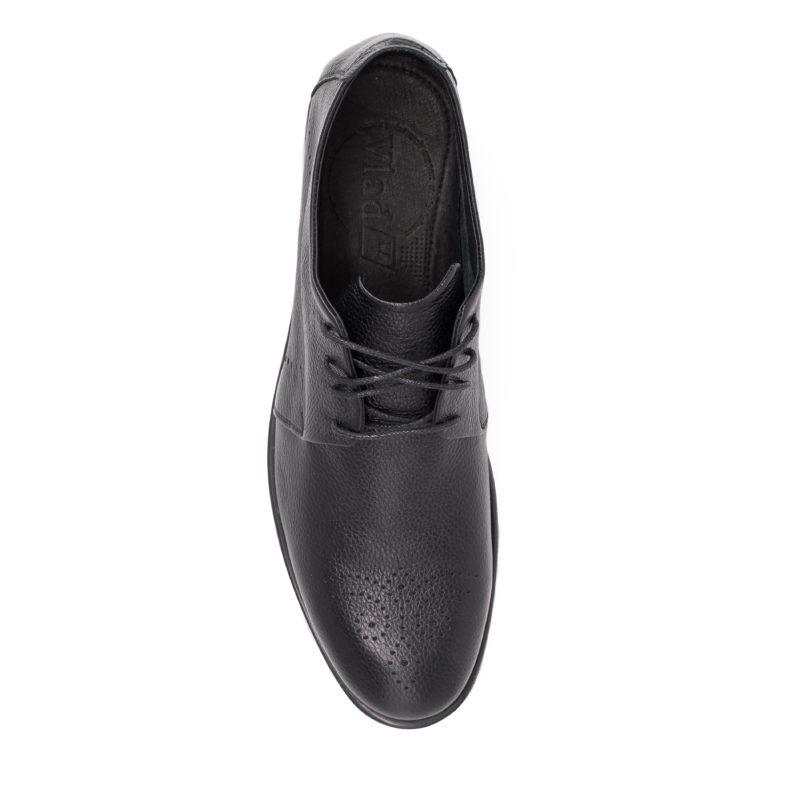 Мужские кожаные туфли VL 741-6236-55 фото 5